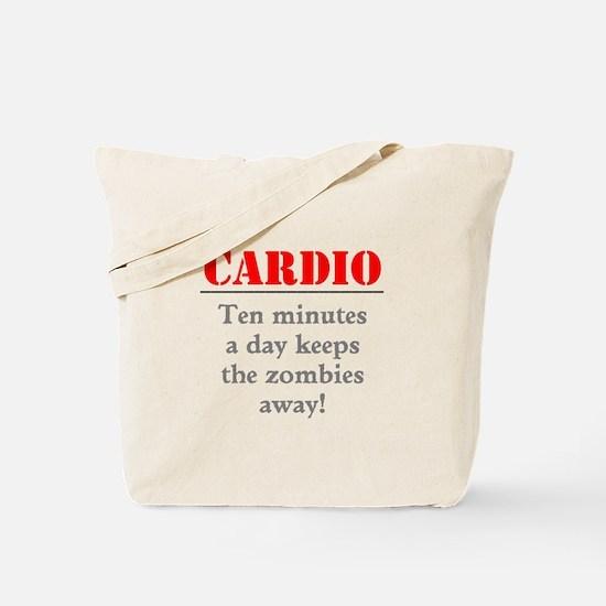 Zombie Cardio Workout Tote Bag