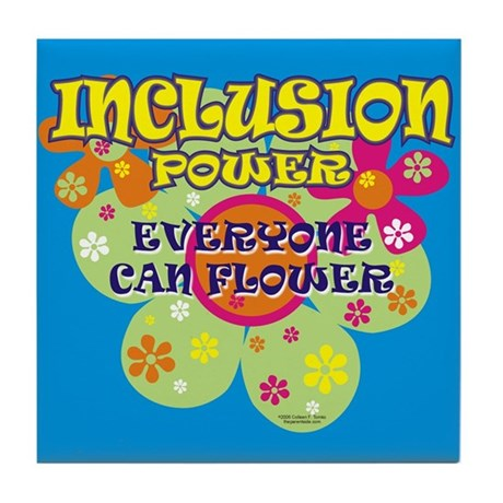 Inclusion Power Tile Coaster