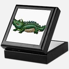 Gang Green Gator Keepsake Box