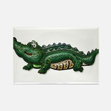 Gang Green Gator Rectangle Magnet