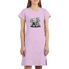 KiniArt Elephant Women's Nightshirt