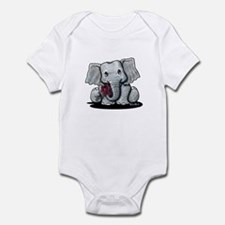 KiniArt Elephant Infant Bodysuit