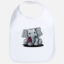 KiniArt Elephant Bib