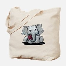 KiniArt Elephant Tote Bag