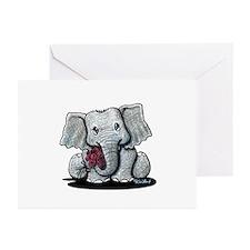 KiniArt Elephant Greeting Cards (Pk of 20)