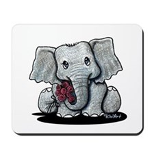 KiniArt Elephant Mousepad