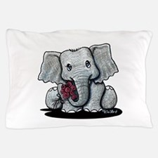 KiniArt Elephant Pillow Case
