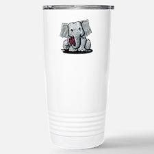 KiniArt Elephant Stainless Steel Travel Mug
