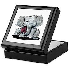 KiniArt Elephant Keepsake Box