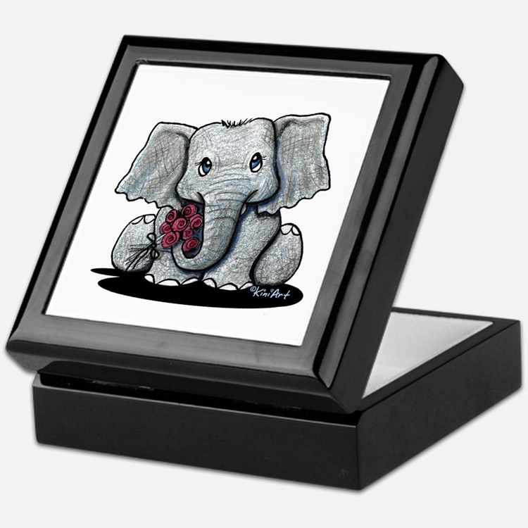 KiniArt Elephant Keepsake Box
