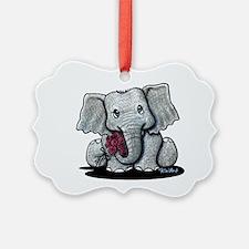 KiniArt Elephant Ornament