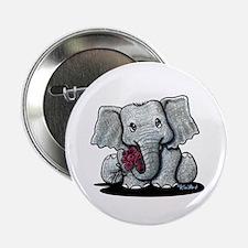 "KiniArt Elephant 2.25"" Button"