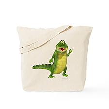 Salty the Crocodile Tote Bag