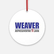 Weaver 2006 Ornament (Round)