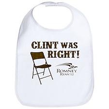 Clint Was Right! Bib