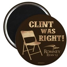 """Clint Was Right! 2.25"""" Magnet (100 pack)"""