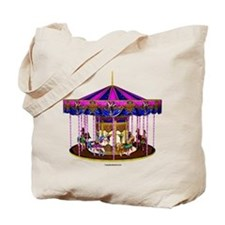 The Pink Carousel Tote Bag