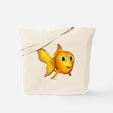 Goldie Toon Goldfish Tote Bag