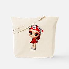 Little Miss Ladybug Tote Bag