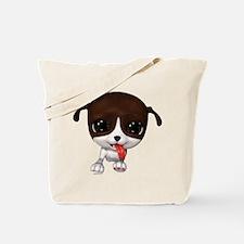 Cute Puppies: PawPaw Tote Bag