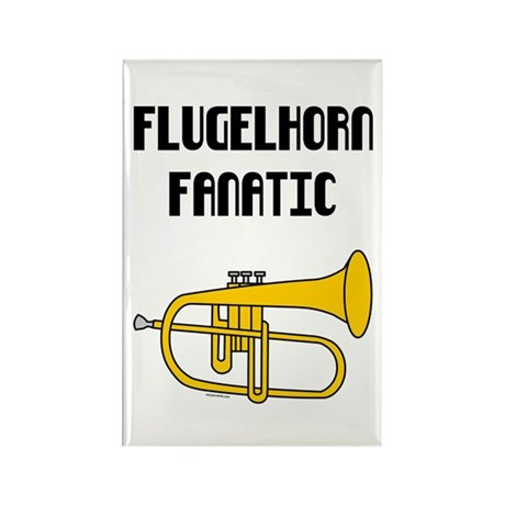 Flugelhorn Fanatic Rectangle Magnet