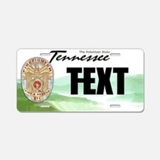 Tennessee Firefighter Custom License Plate