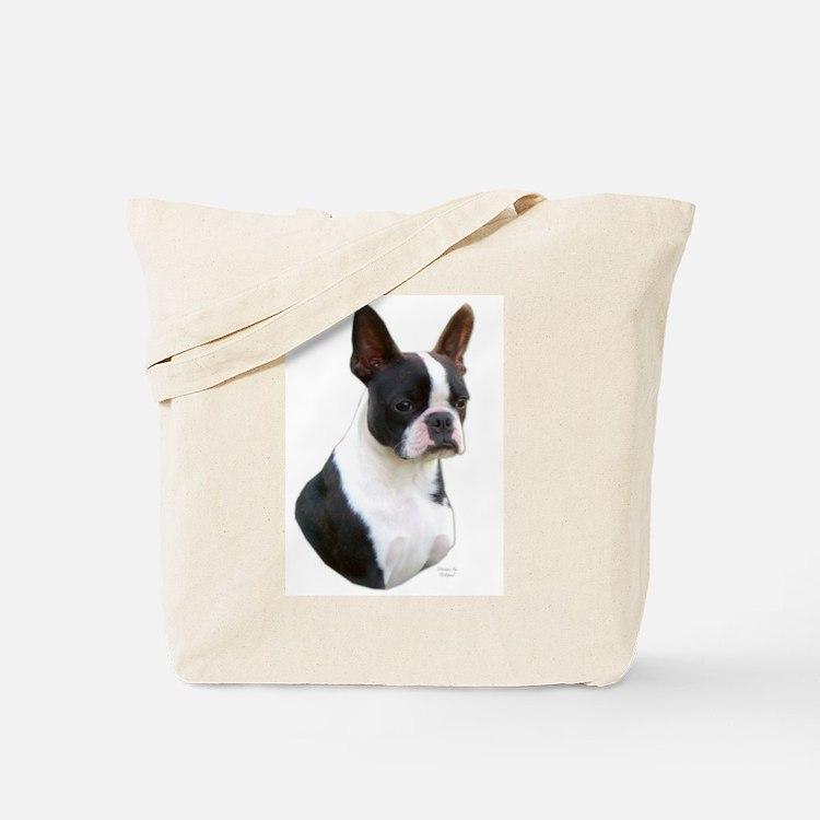 Beautiful Boston Terrier Tote Bag