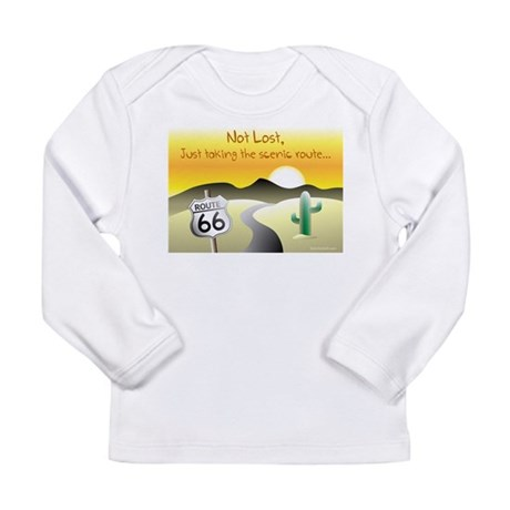 not lost Long Sleeve Infant T-Shirt