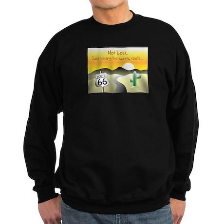 not lost Sweatshirt (dark)
