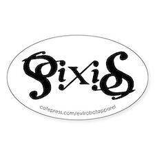 Pixies Ambigram Decal