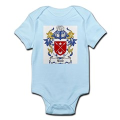 Lind Coat of Arms Infant Creeper