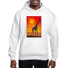 African Giraffe Hoodie