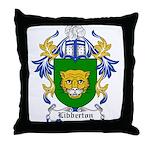 Libberton Coat of Arms Throw Pillow