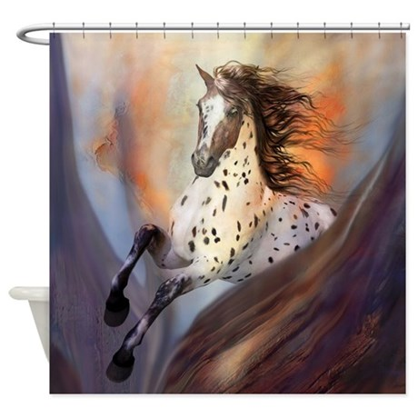 Wild Horse 2 Shower Curtain