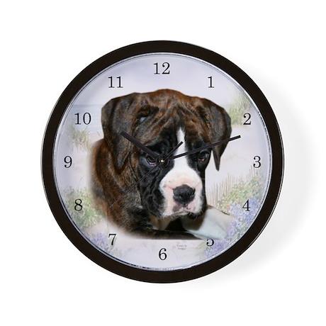 Boxer Baby Wall Clock