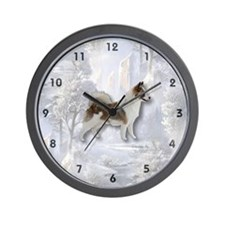 Icelandic Sheep Dog Wall Clock
