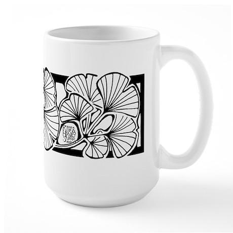 Gingko Large Mug