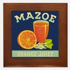 Mazoe colour Framed Tile