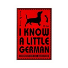 Little German! Dachshund Magnets (10 pack)