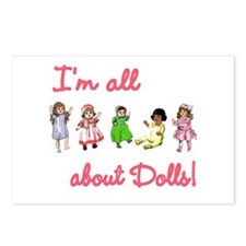 I'm All About Dolls Postcards (Package of 8)
