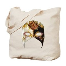 Venetian Mask: Ruby Jewel Tote Bag