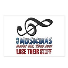 Musician Postcards (Package of 8)