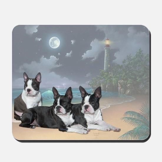 Boston Terriers Mousepad