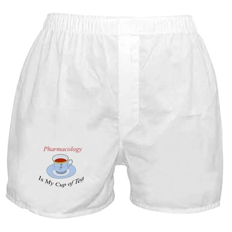 Pharmacology is my cup of tea Boxer Shorts