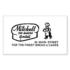 Bakers Rectangle Decal