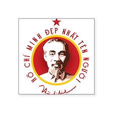 "Ho Chi Minh Square Sticker 3"" x 3"""