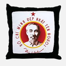 Ho Chi Minh Throw Pillow