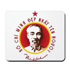 Ho Chi Minh Mousepad