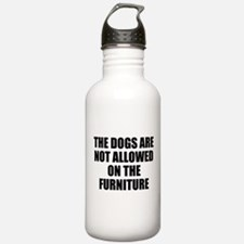 Dog Rules Water Bottle
