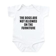 Dog Rules Infant Bodysuit